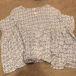 Boutique En Creme blouse!